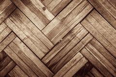 Stock Photo of Damaged parquet