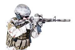 Bearded special warfare operator Stock Photos