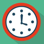 Time icon design, vector illustration eps10 graphic Stock Illustration