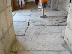 Floor stone in the temple. Related clips are in my portfolio in 1920x1080. Stock Footage