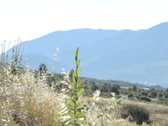 Mountains and fields. Related clips are in my portfolio in 1920x1080. Stock Footage