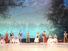 The ballet at theater. Related clips are in my portfolio in 1920x1080. Stock Footage