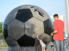The stone ball. Related clips are in my portfolio in 1920x1080. Stock Footage