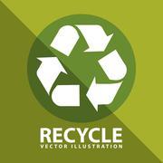 Stock Illustration of ecology icon design, vector illustration eps10 graphic