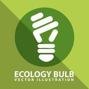 ecology icon design, vector illustration eps10 graphic - stock illustration