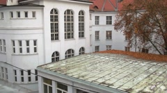 Old building, europe Stock Footage
