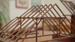 model truss - stock footage