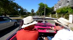 Havana; Cuba; Habana; famous; Floridita; bar; Hemingway; favorite; drinks; Stock Footage