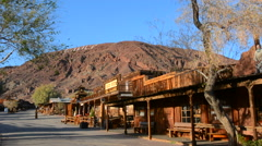 Calico Ghost Town Barstow CA California  for tourist in  old cowboy town of the Stock Footage