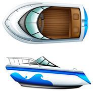A transportation vessel Stock Illustration