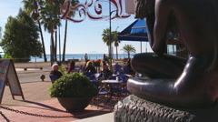 tracking shot on Costa del Sol - stock footage