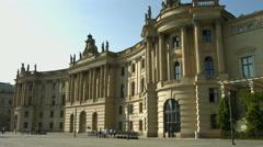 Humboldt University Berlin Stock Footage