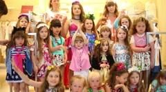 Fashion models of Polina Golub in Yakimanka. Stock Footage