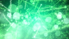4K Animation. Abstract motion background, shine, light, particles, rays, loop. - stock footage