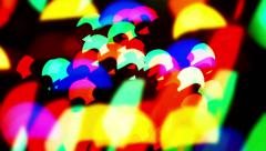 Blinking bokeh particles Stock Footage