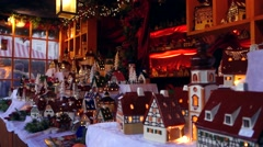 Christmas market in nuernberg, germany Stock Footage