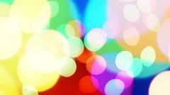 bokeh lights - stock footage