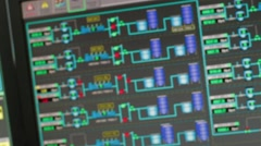 Close Up of an Electronic Board Stock Footage