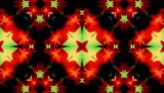 Flashing kaleidoscope Stock Footage