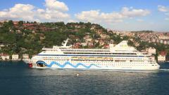 Cruise vacation to Turkey Stock Footage