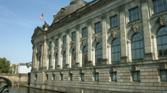 Bode museum on museum island Berlin Germany Stock Footage