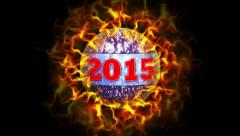 07 disco ball 2015 PS F Stock Footage