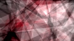 Fast Chaotic Expressionist Abstract Fuzzy Focus Red Background Loop 1 Stock Footage