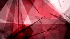 Fast Chaotic Expressionist Abstract Red Background Loop 3 Stock Footage