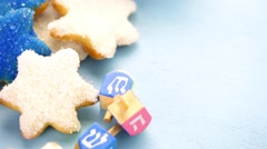 Cookies for Hanukkah Stock Footage