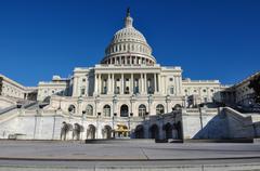 Capitol hill building in washington dc Stock Photos