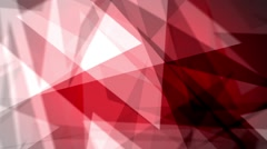 Fast Chaotic Expressionist Abstract Fuzzy Focus Red Background Loop 3 Stock Footage