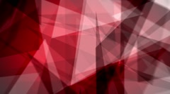 Fast Chaotic Expressionist Abstract Fuzzy Focus Red Background Loop 4 Stock Footage