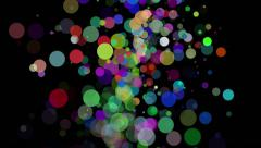 Abstract Particle Motion Background 02 Stock Footage