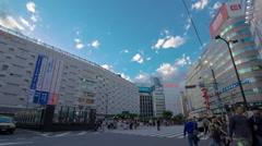 Ikebukuro clossing. Stock Footage