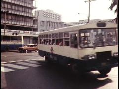 Traffic, Busy Street in Africa (Archive Footage) 1980s - stock footage