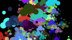 Abstract Particle Motion Background 06 Stock Footage
