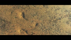 Desert in Outback Australia Northern Territory Stock Footage