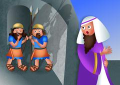 Stock Illustration of Jewish Feast of Purim