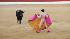 Bullfighting in Spain - stock footage
