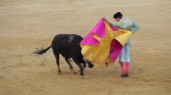 Bullfighting in Spain Stock Footage
