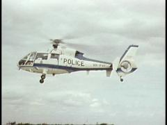 Victoria Police Receives New Chopper/Helicopter Stock Footage