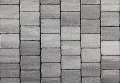 grey tile pattern - stock photo