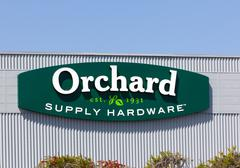 Orchard supply hardware exterior Stock Photos