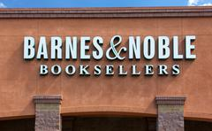 barnes and noble store exterior - stock photo