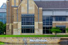 medtronic corporate headquarters campus - stock photo