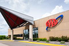 aaa building and license service center - stock photo
