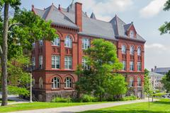 science hall at the university of wisconsin-madison - stock photo