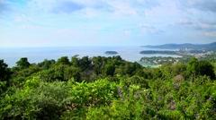 Island Phuket Stock Footage