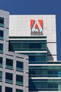 Adobe systems headquarters in silicon valley Stock Photos