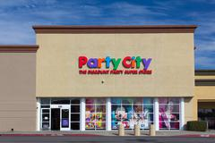 party city store exterior - stock photo